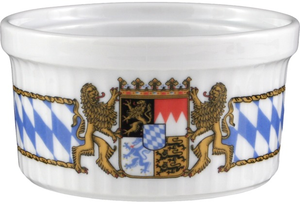 Seltmann Weiden Pastetennapf 1010 9 cm Compact Bayern 27110 blau, gelb, rot/rosa