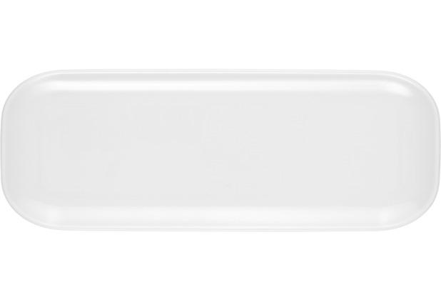 Seltmann Weiden Platte eckig 5303 36 cm x 12 cm No Limits weiß uni 00003