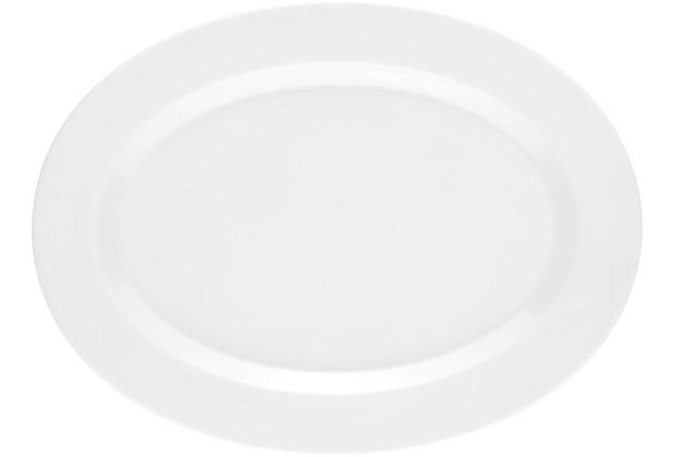 Seltmann Weiden Platte oval 31 cm No Limits weiß uni 00003