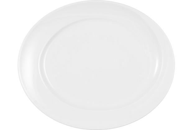 Seltmann Weiden Platte oval 31 cm Paso weiß uni 00003