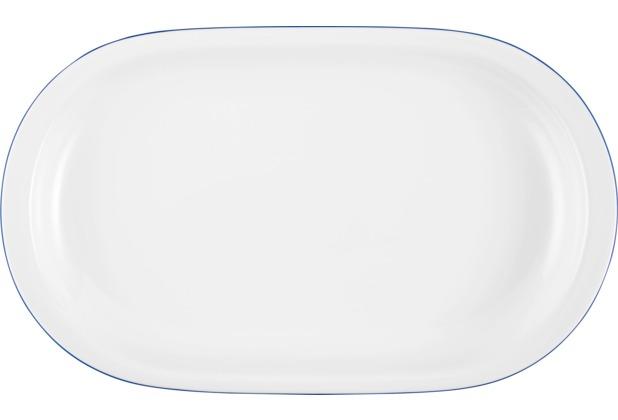 Seltmann Weiden Platte oval 33 cm Compact Blaurand 10795