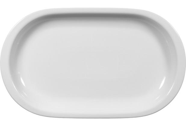 Seltmann Weiden Platte oval 33 cm Compact weiß uni 00007