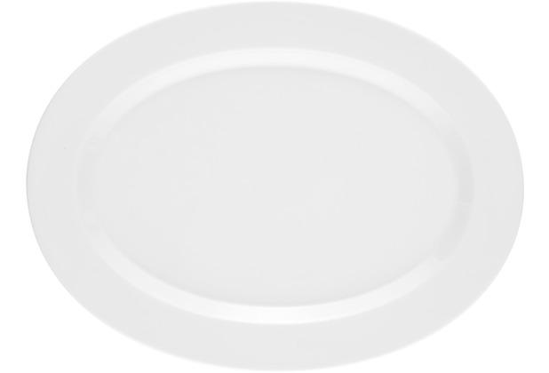 Seltmann Weiden Platte oval 35 cm No Limits weiß uni 00003