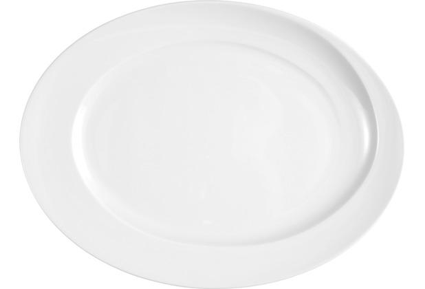 Seltmann Weiden Platte oval 35 cm Paso weiß uni 00003