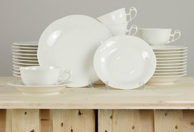 Seltmann Weiden Rubin Teeservice für 12 Personen 36-teilig