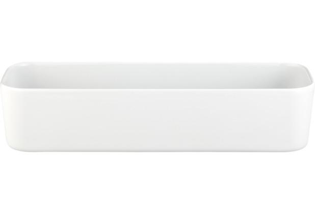 Seltmann Weiden Schale eckig 5303 35 cm x 11 cm x 8 cm No Limits weiß uni 00003