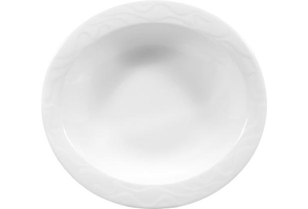 Seltmann Weiden Schale oval 17 cm Allegro weiß uni 00003