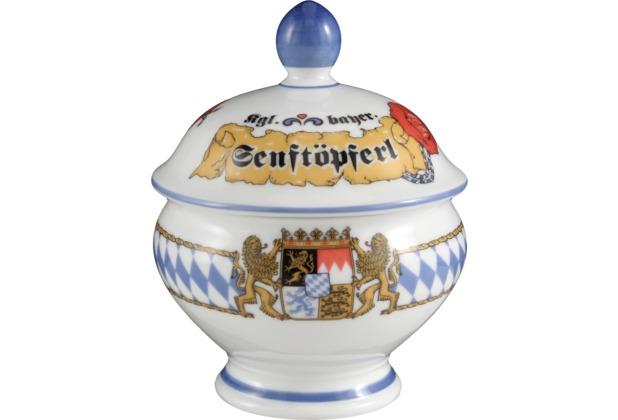 Seltmann Weiden Senftöpferl Compact Bayern 27110 blau, gelb, rot/rosa