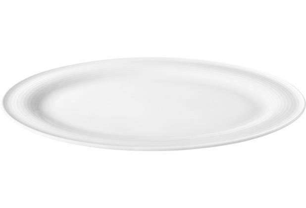Seltmann Weiden Servierplatte oval 31x24 cm Beat weiß