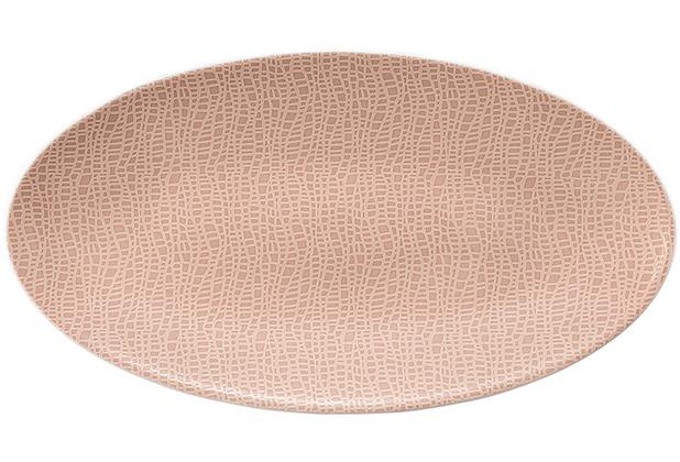 Seltmann Weiden Servierplatte oval 33x18 cm Fashion posh rose 25673