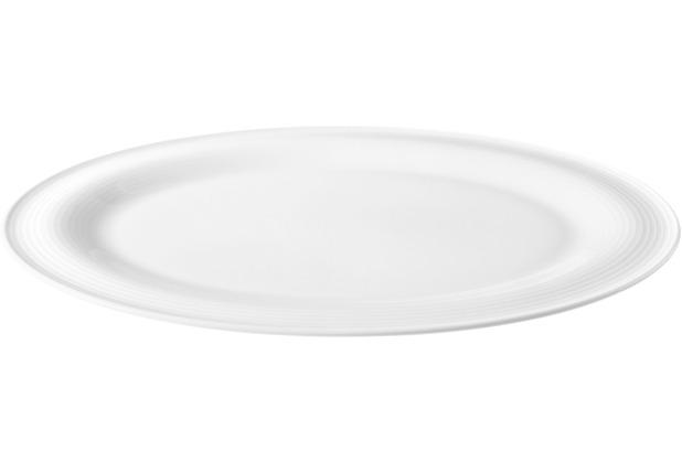 Seltmann Weiden Servierplatte oval 35x28 cm Beat weiß