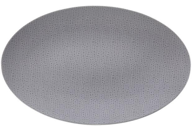 Seltmann Weiden Servierplatte oval 40x26 cm Fashion elegant grey 25675