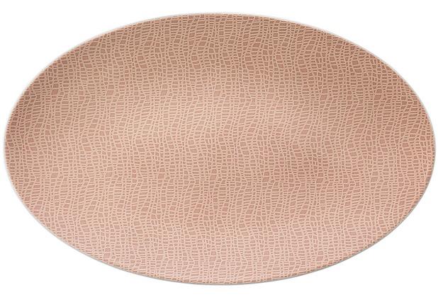 Seltmann Weiden Servierplatte oval 40x26 cm Fashion posh rose 25673