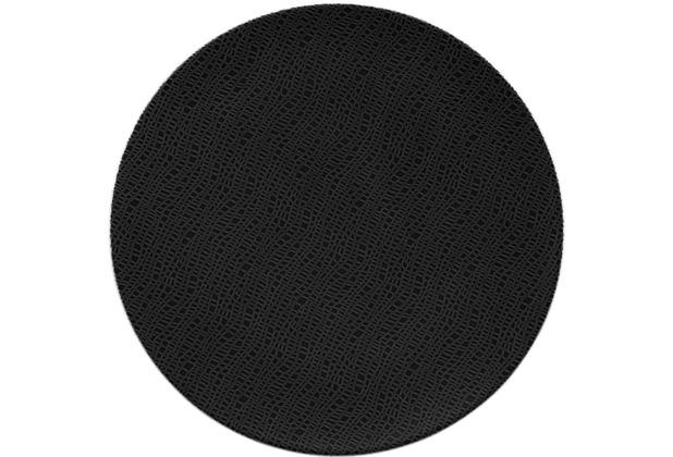 Seltmann Weiden Servierplatte rund flach 33 cm Life Fashion glamorous black 25677