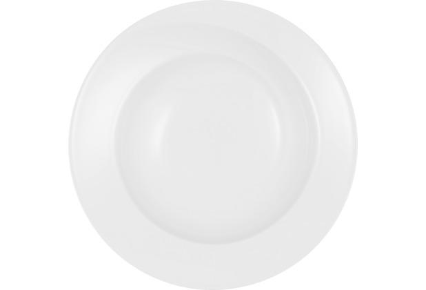 Seltmann Weiden Suppenteller rund 22,5 cm Paso weiß uni 00003