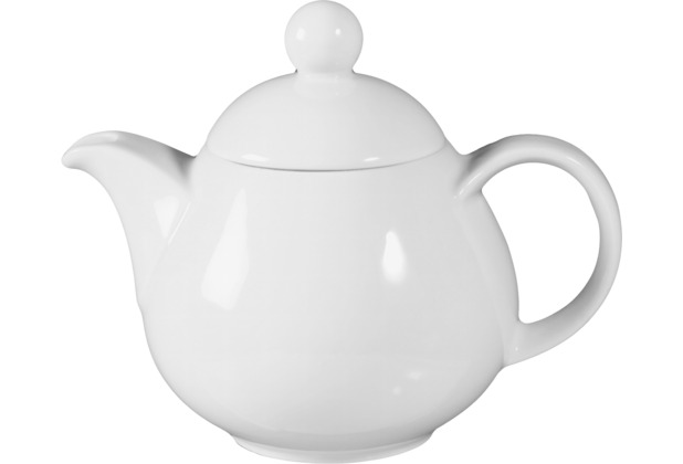 Seltmann Weiden Teekanne 1 Meran weiß uni 6