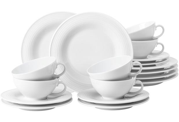Seltmann Weiden Beat Teeservice für 6 Personen 18-teilig klein