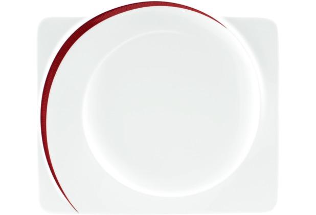 seltmann weiden teller flach eckig 30 cm paso bossa nova 23627 rot rosa schwarz. Black Bedroom Furniture Sets. Home Design Ideas