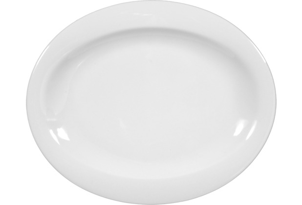 Seltmann Weiden Teller oval 19 cm Top Life weiß uni 00003