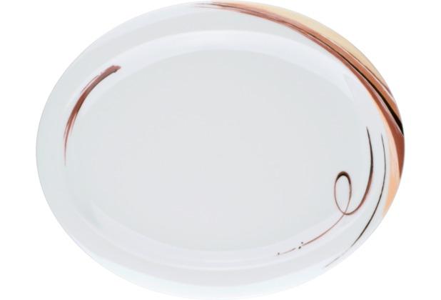 Seltmann Weiden Teller oval 29 cm Top Life Aruba 23434 braun