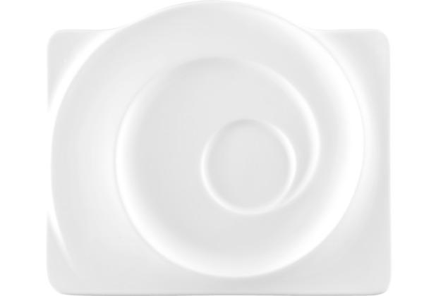 Seltmann Weiden Untere eckig groß 19,5 cm Paso weiß uni 00003