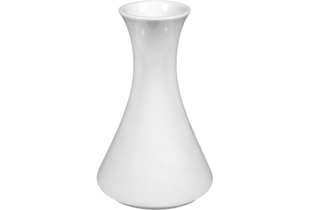 Seltmann Weiden Vase 12,5 cm Compact weiß uni 00007