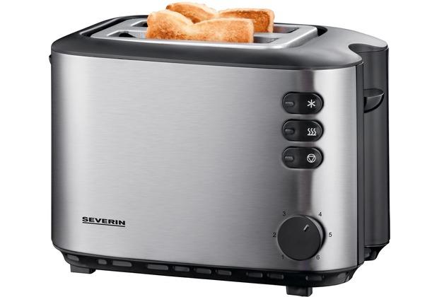 Severin Toaster AT 2514, edelstahl