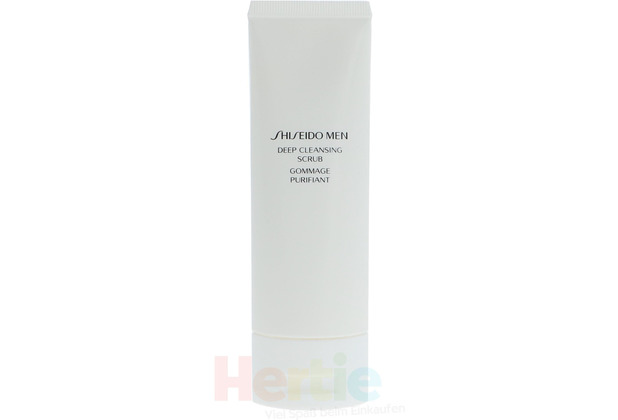 Shiseido Men Deep Cleans Scrub 125 ml