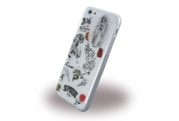 si puede SilikonCover - Apple iPhone 6, 6s - Tattoo