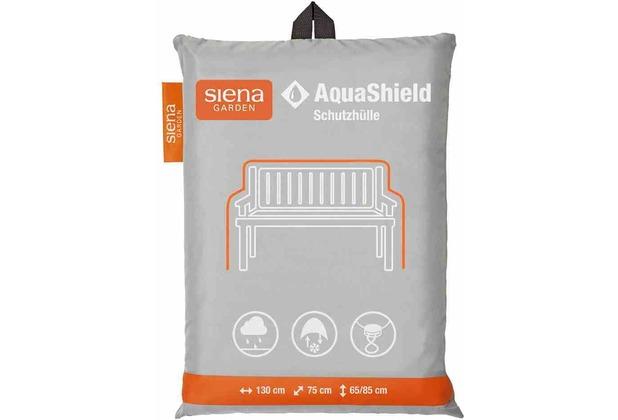 Siena Garden AquaShield Bankhülle 2er 130x75x65/85cm hellgrau