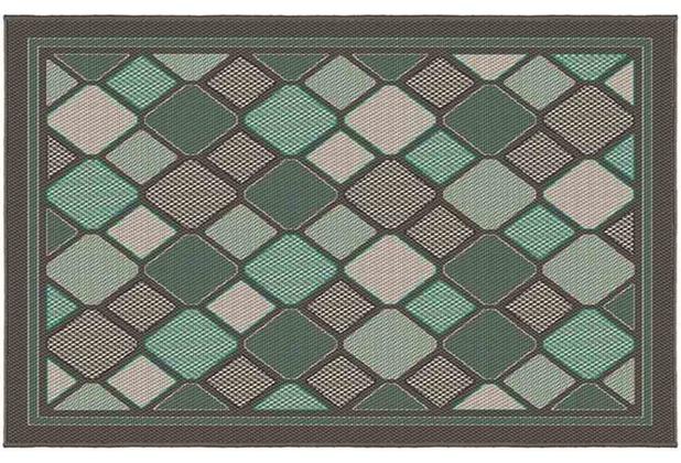 siena garden dover outdoor teppich 2er set 213x160 112x80 cm gr n. Black Bedroom Furniture Sets. Home Design Ideas
