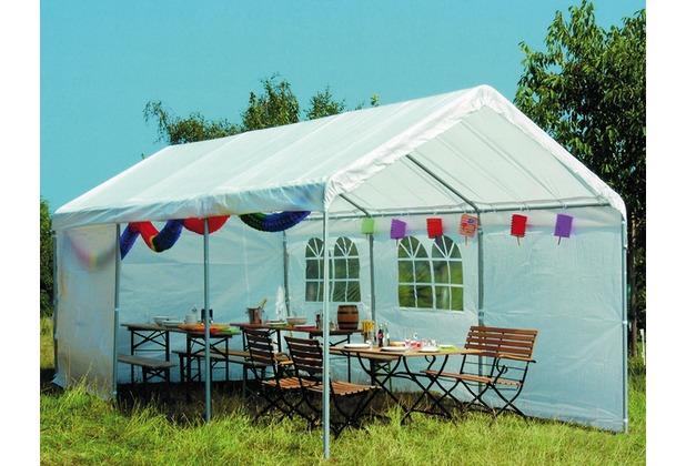 Siena Garden Ersatzdach zu Partyzelt, weiß, PE-Folie 160g/m², L 600 x B 300 cm