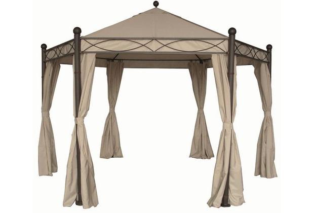 Siena Garden Ersatzdach, zu Pavillon Kenia, Farbe: natur, Polyester 210g/m²