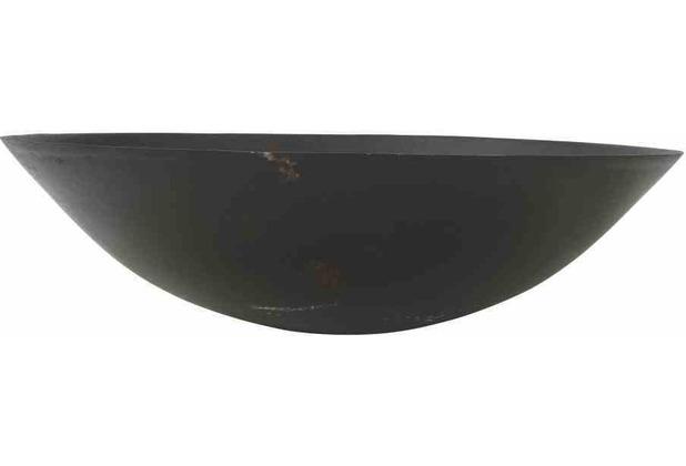 Siena Garden Feuerschale Modern, Metall schwarz, Fuß aus Beton, Ø50xH27,5cm, einzeln kartonverpackt