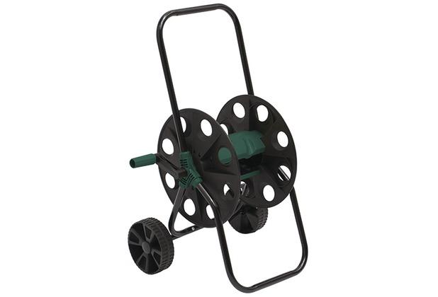 Siena Garden Schlauchwagen aus Kunststoff grün/schwarz, mit Stahlrohr