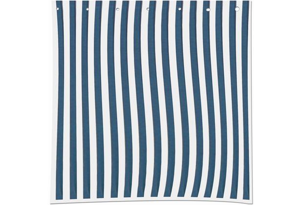 Siena Garden Seitenteile-Set, für Faltpavillon, 2-teilig, 1 Seitenteil mit Fenster, 1 Seitenteil ohne Fenster, blau/weiß