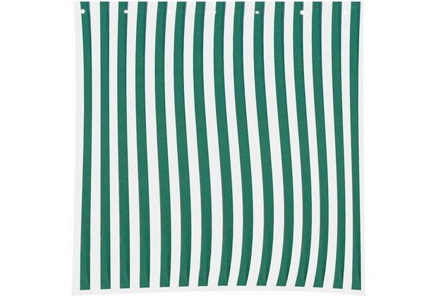 Siena Garden Seitenteile-Set, für Faltpavillon, 2-teilig, 1 Seitenteil mit Fenster, 1 Seitenteil ohne Fenster, grün/weiß
