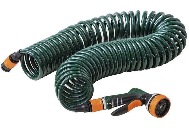 Siena Garden Spiralschlauchset 10m mit Multifunktionsbrause