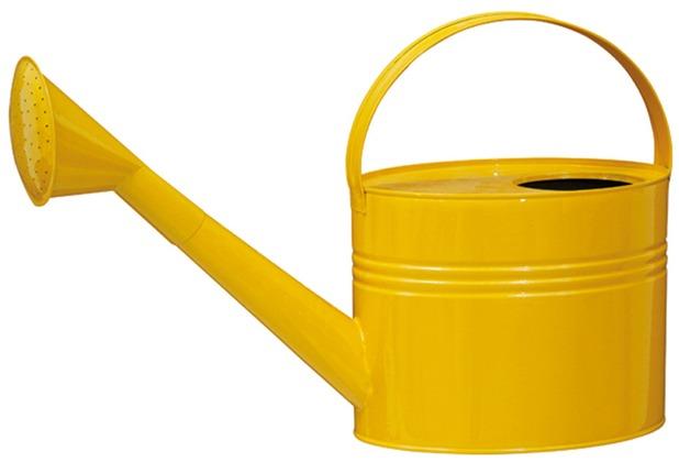 Siena Garden Zinkgießkanne 7l gelb