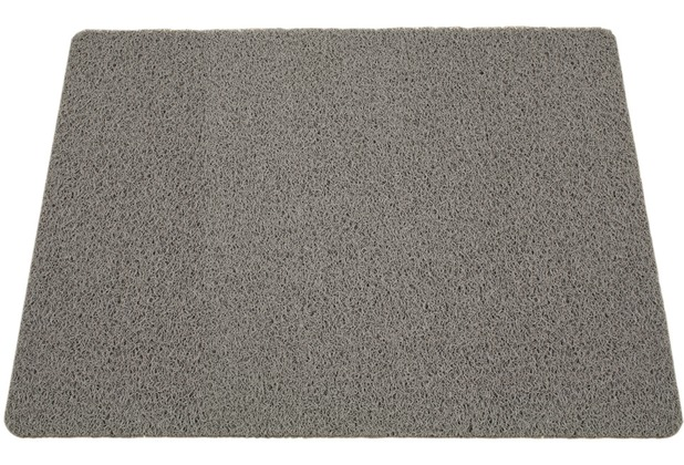 Siena Home Außenmatte CURLY 60 x 80 cm, grau