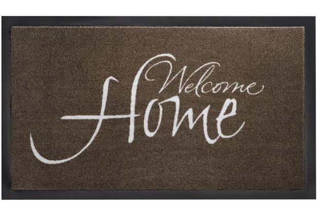 Siena Home Fußmatte Peva Welcome Home, 45 x 75 cm