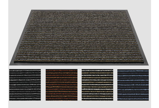 Siena Home Fußmatte Scala 60 x 80 cm, anthrazit