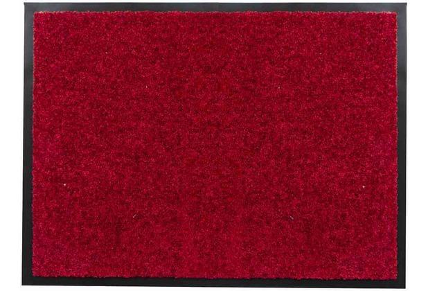 Siena Home Fußmatte Twine 60 x 80 cm rot