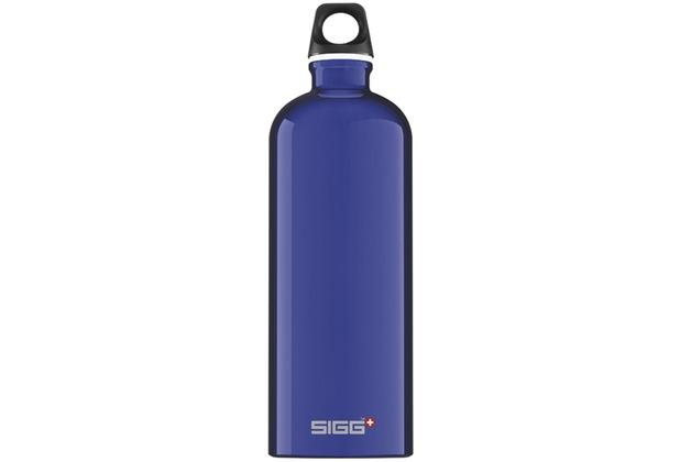 Sigg Trinkflasche Traveller Blue 1,0 l