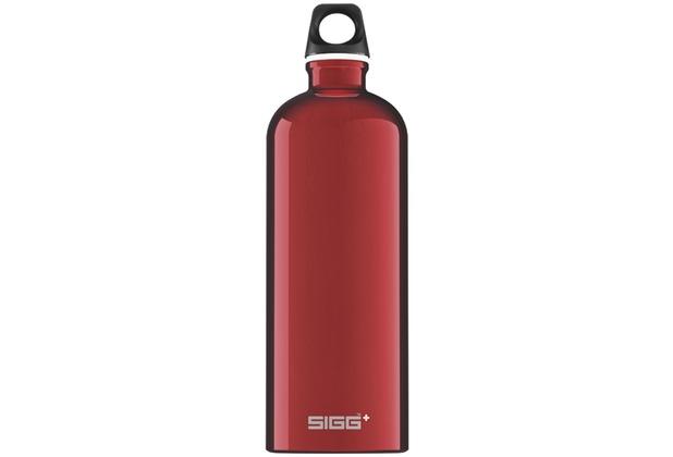 Sigg Trinkflasche Traveller Red 1,0 l
