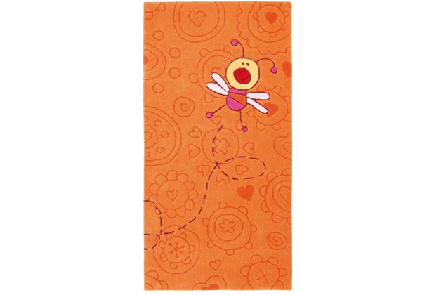 Sigikid Kinderteppich Happy Zoo Summ-Summ SK-3340-01kl terrakotta/orange 70 x 140 cm