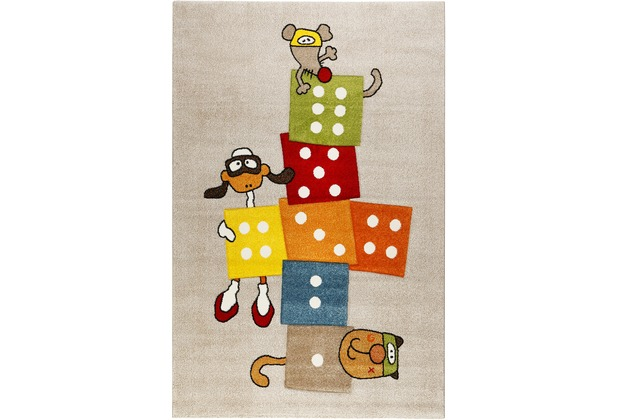Sigikid Kinderteppich Bandidoleros SK-22426-070 taupe 80x150 cm