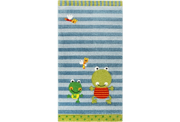 Sigikid Kinderteppich Fortis Frog SK-22429-031 blau 80x150 cm