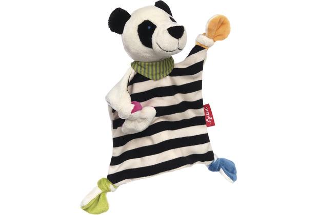 Sigikid Schnuffeltuch Panda schwarz/weiß