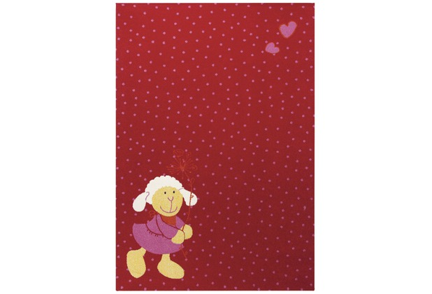 Sigikid Kinderteppich Schnuggi SK-0524-05 rot 120 x 170 cm